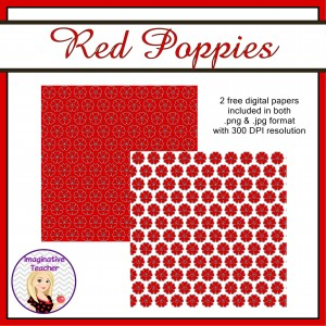 free-red-poppies-papers