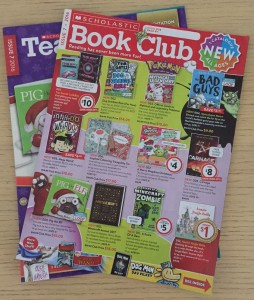 scholastic book club february flyer