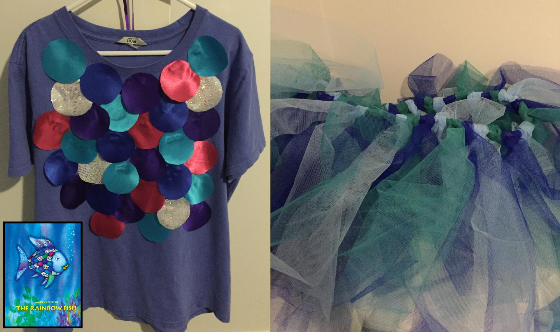 Book u2013 The Rainbow Fish & My Budget No Sew Book Week Costumes | Imaginative Teacher